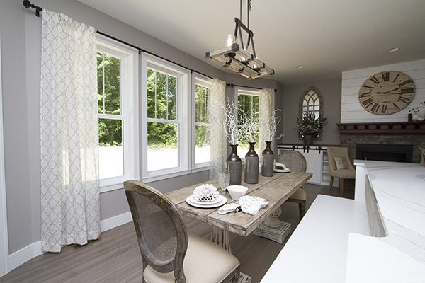 Endure Double Hung Windows - Dining Rm